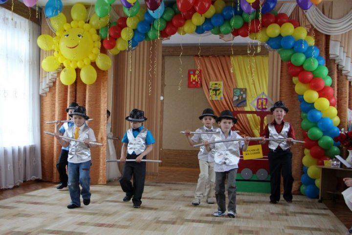 Выпускной в детском саду в стиле стиляги